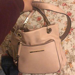 Steve Madden pink nude purse